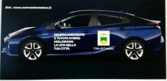 Auto ibrida Toyota in comodato d\'uso al Comune