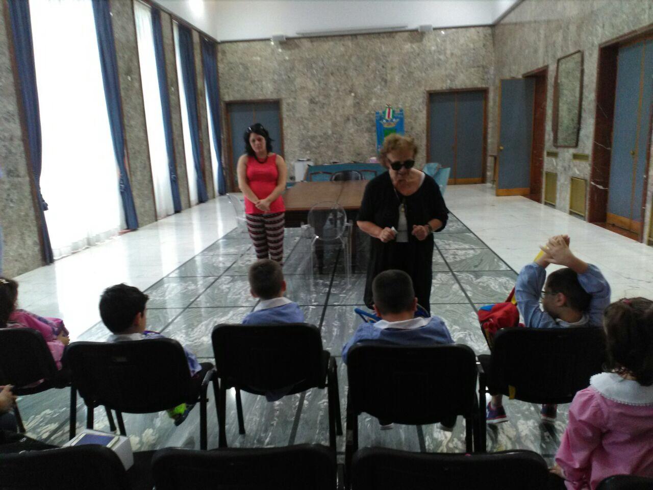 visita al Comune scuola parificata