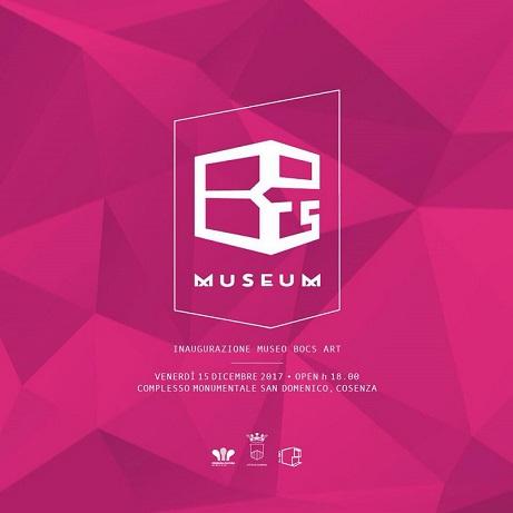 Invito Inaugurazione BoCs Art Museum