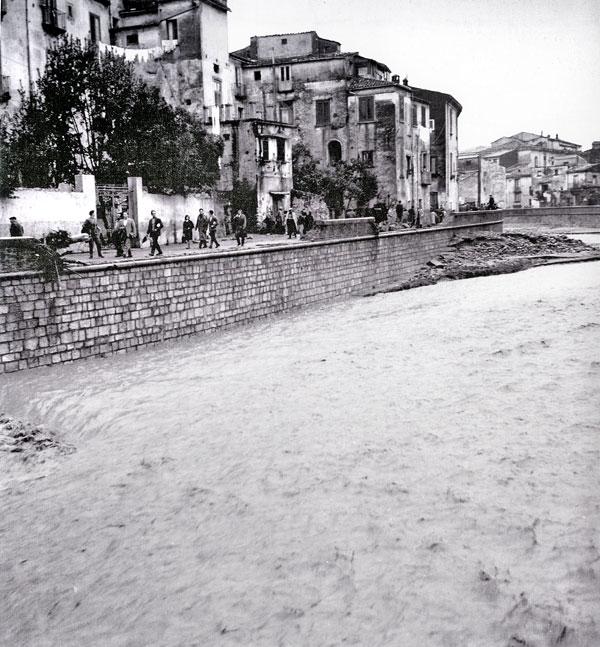 l\'alluvione del Crati nel 1959