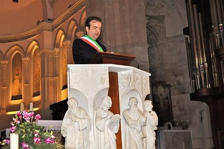 Occhiuto discorso augurale in Duomo 2017