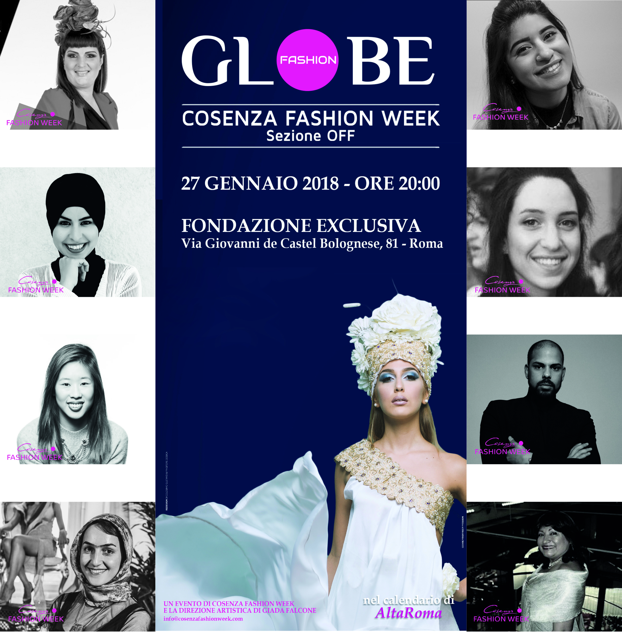 Globe Fashion ad AltaRoma