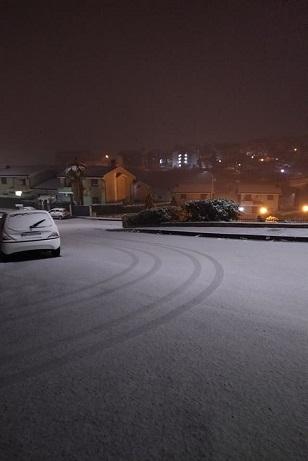 Neve su Cosenza 28 febbraio 2018
