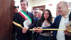 inaugurazione centro migranti