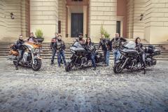 Harley Davidson in Piazza XV Marzo