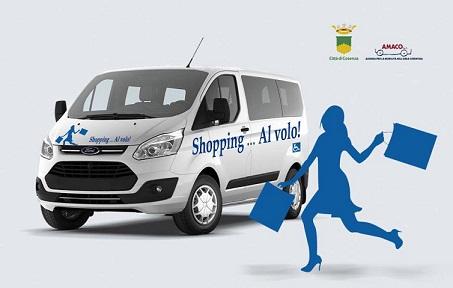 Locandina Al Volo Shopping Amaco