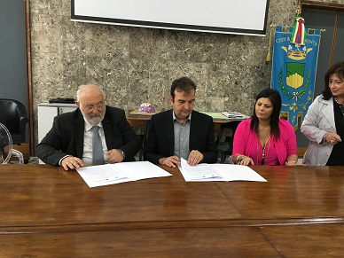 Firma Protocollo con Unical