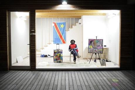 Artista congolese Chris Tundula