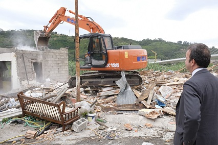 Occhiuto Demolizione Baraccopoli Via Reggio Calabr