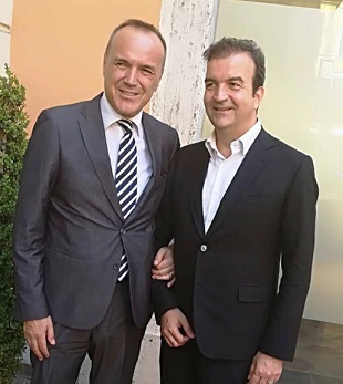 Mauro Balata presidente Lega B e Occhiuto