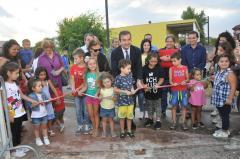 inaugurazione del parco giochi gonfiabili della Ci