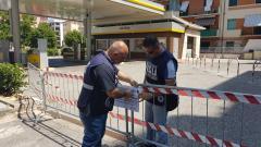 Sequestro impianto carburante Eni via Caloprese