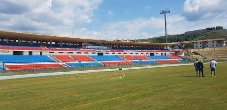 Stadio San Vito Gigi Marulla lavori completati