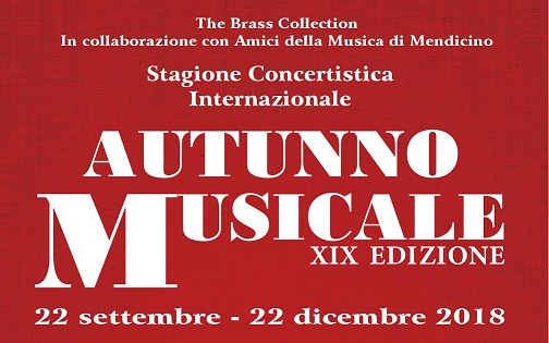 autunno musicale 2018