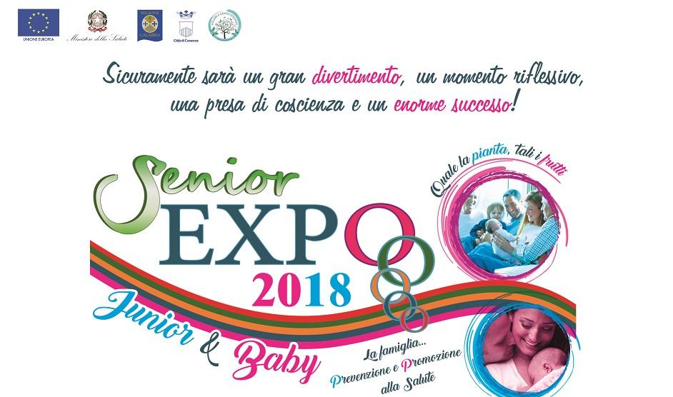 la locandina di Expo Senior e Junior 2018