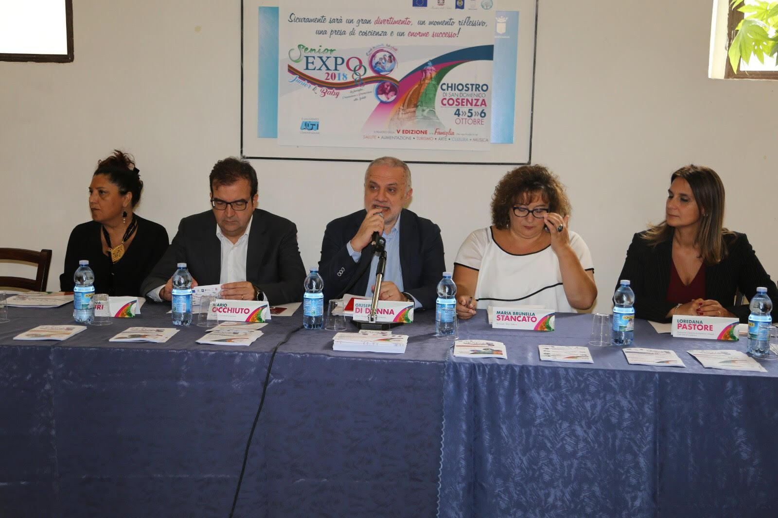 la conferenza stampa di presentazione della V ediz