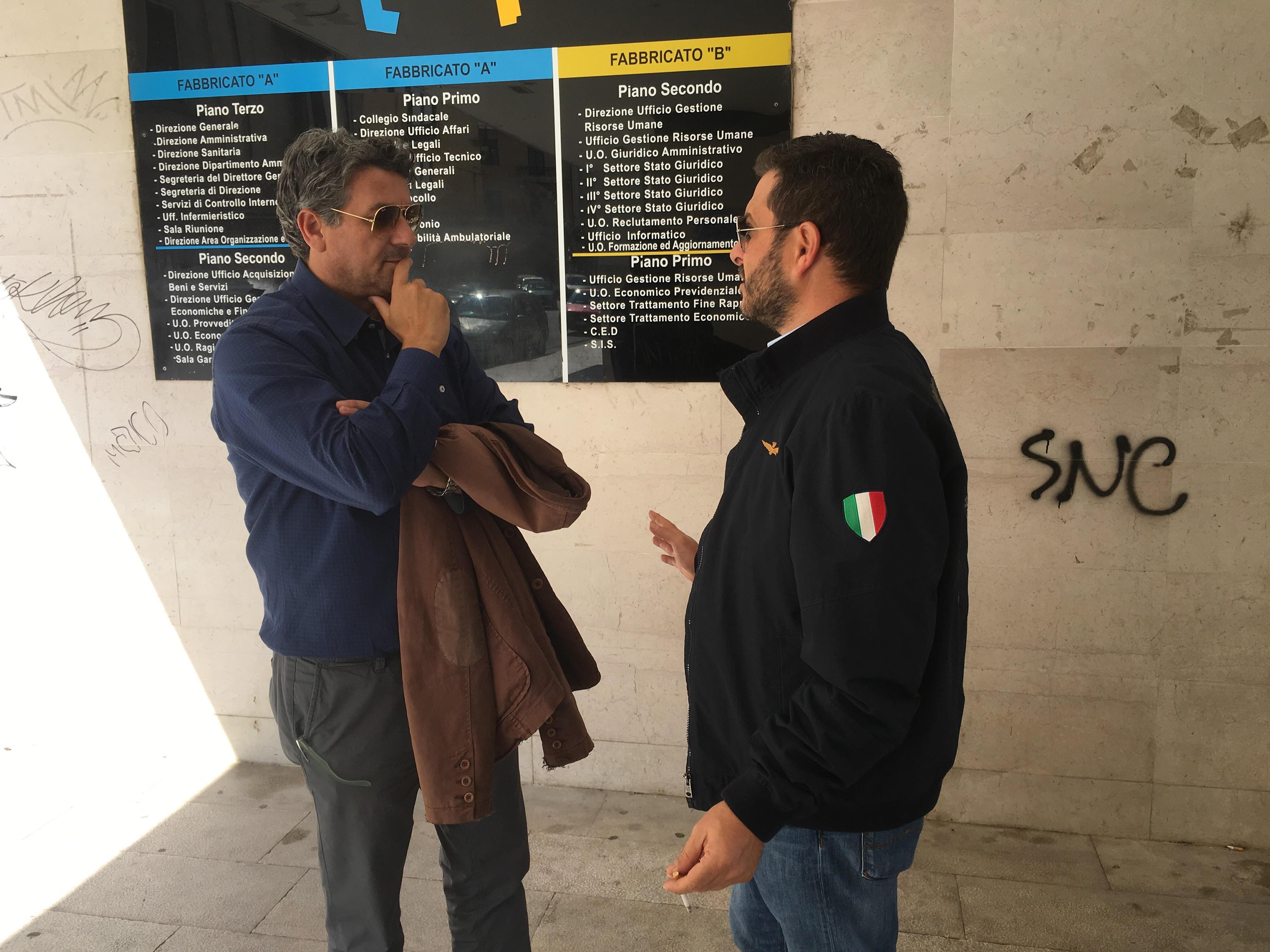 Giovanni Cipparrone e Massimo Bozzo