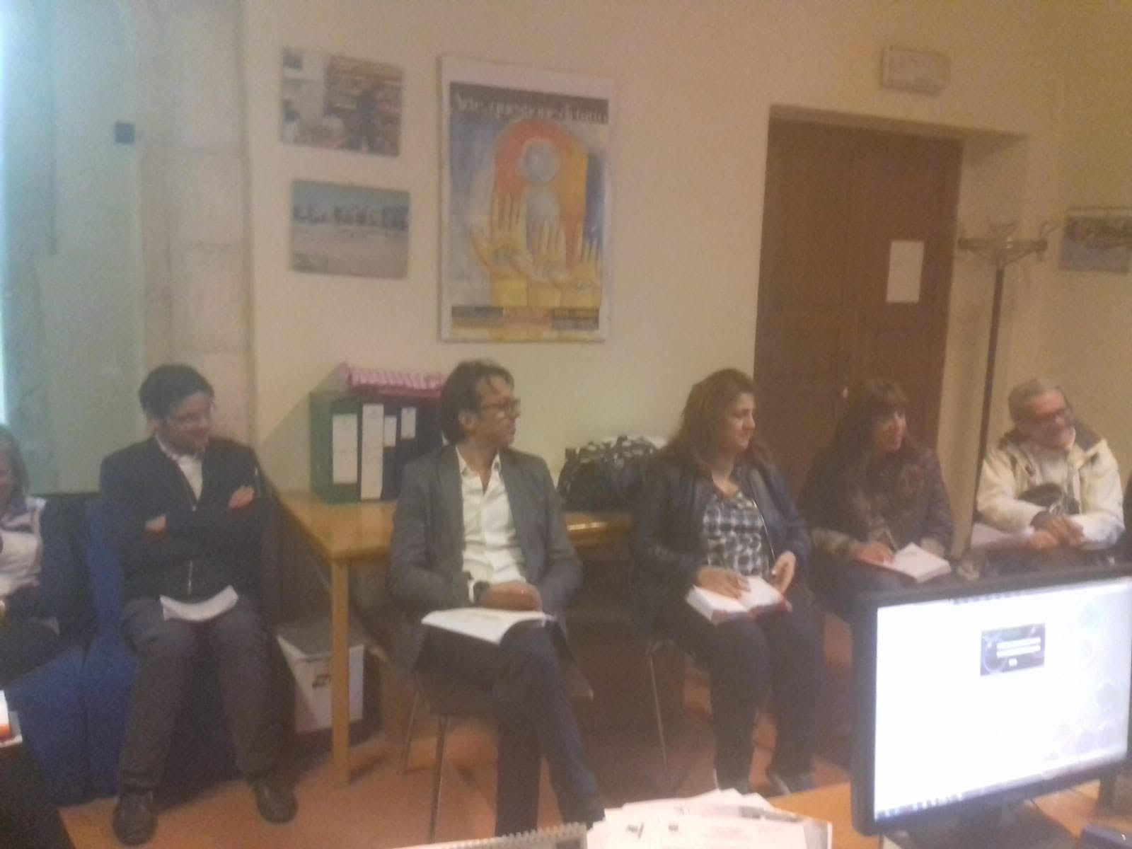 la riunione tra i dirigenti scolastici ed Ecologia