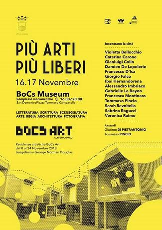 Locandina BoCs Art Novembre 2018