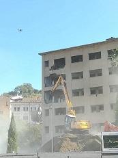 Demolizione Ex Hotel Jolly