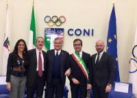 Cerimonia Coni Città Europea dello Sport 2020