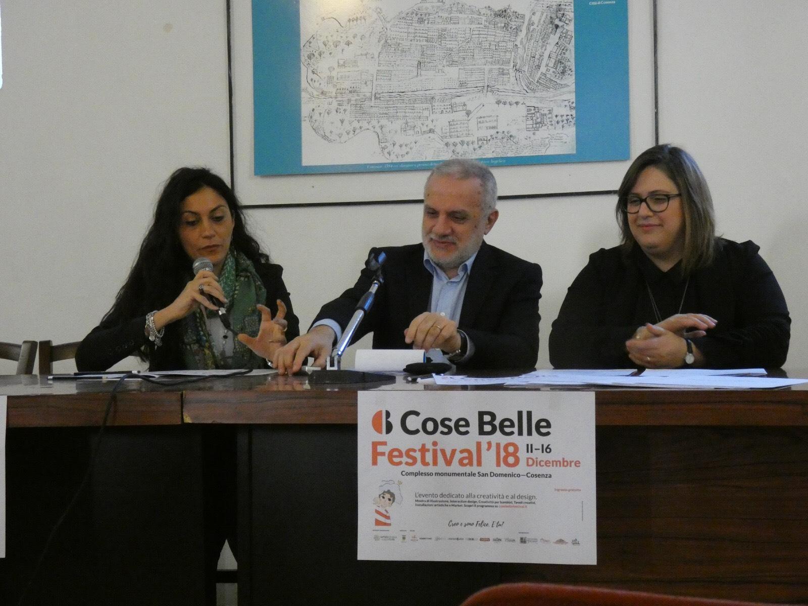 la conferenza stampa di Cose Belle Festival