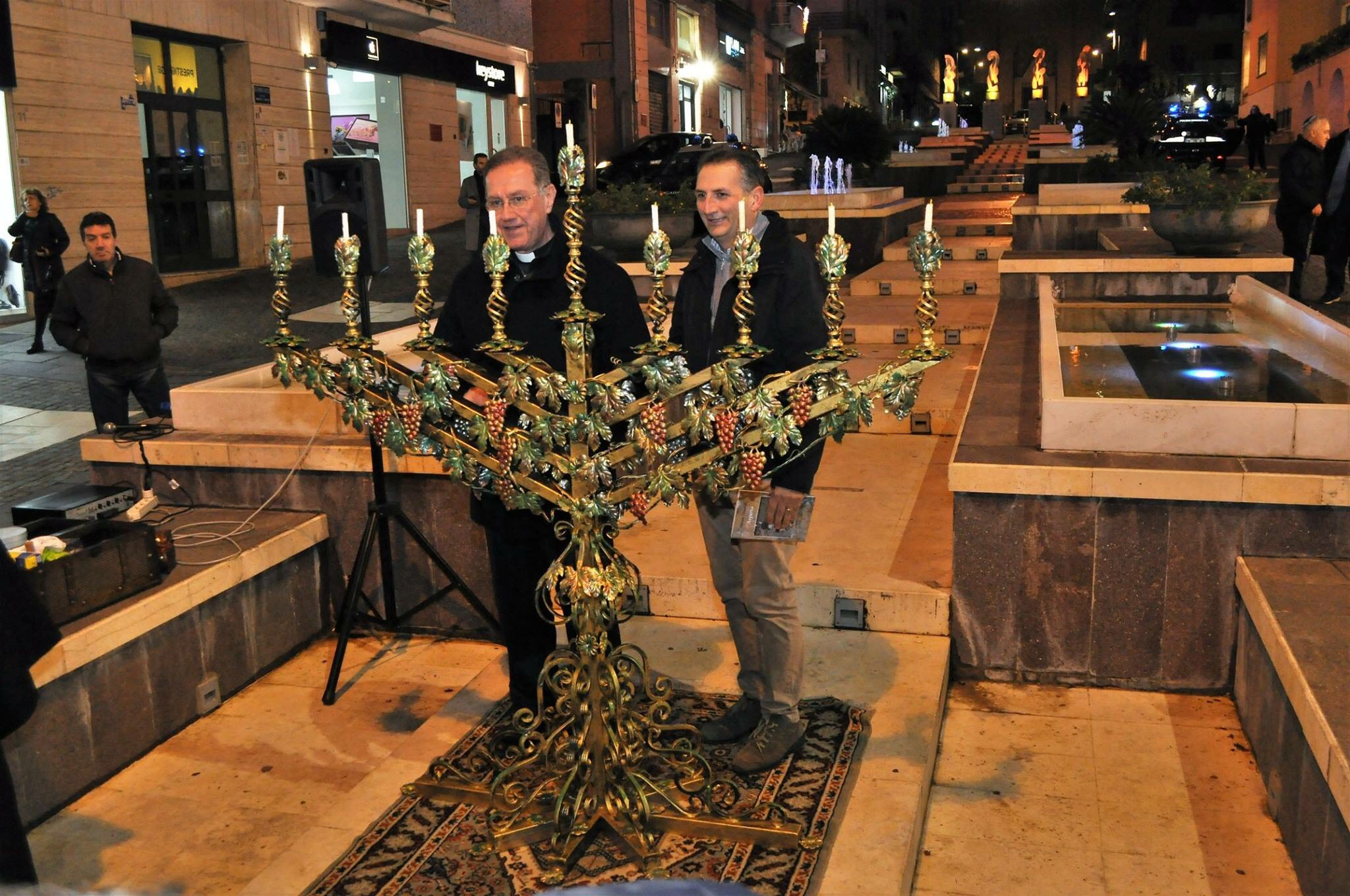 la Festa ebraica delle luci