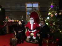 Santelli e Occhiuto con Babbo Natale alla Mostra L