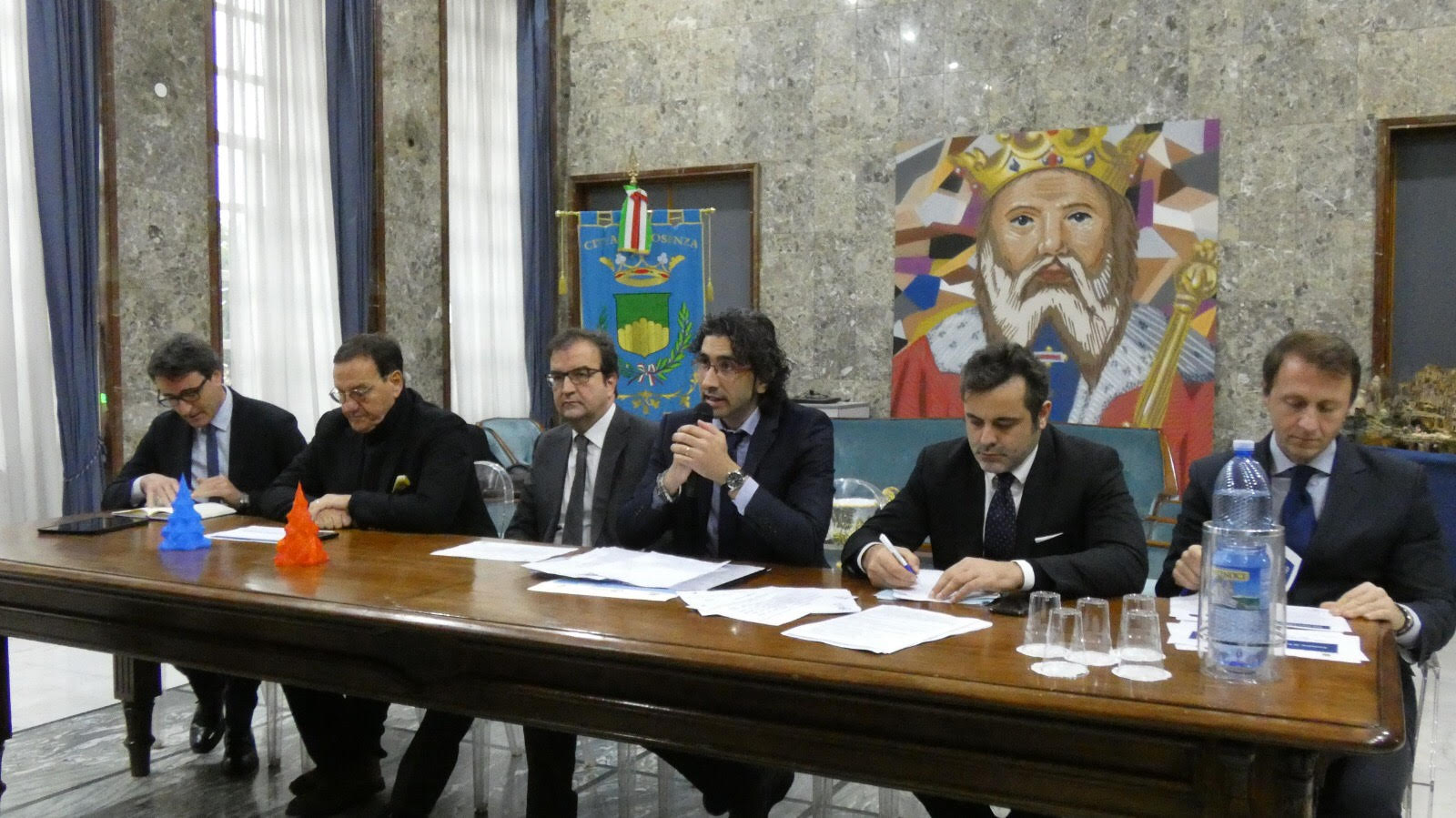 l\'incontro sul Microcredito con Mario Baccini