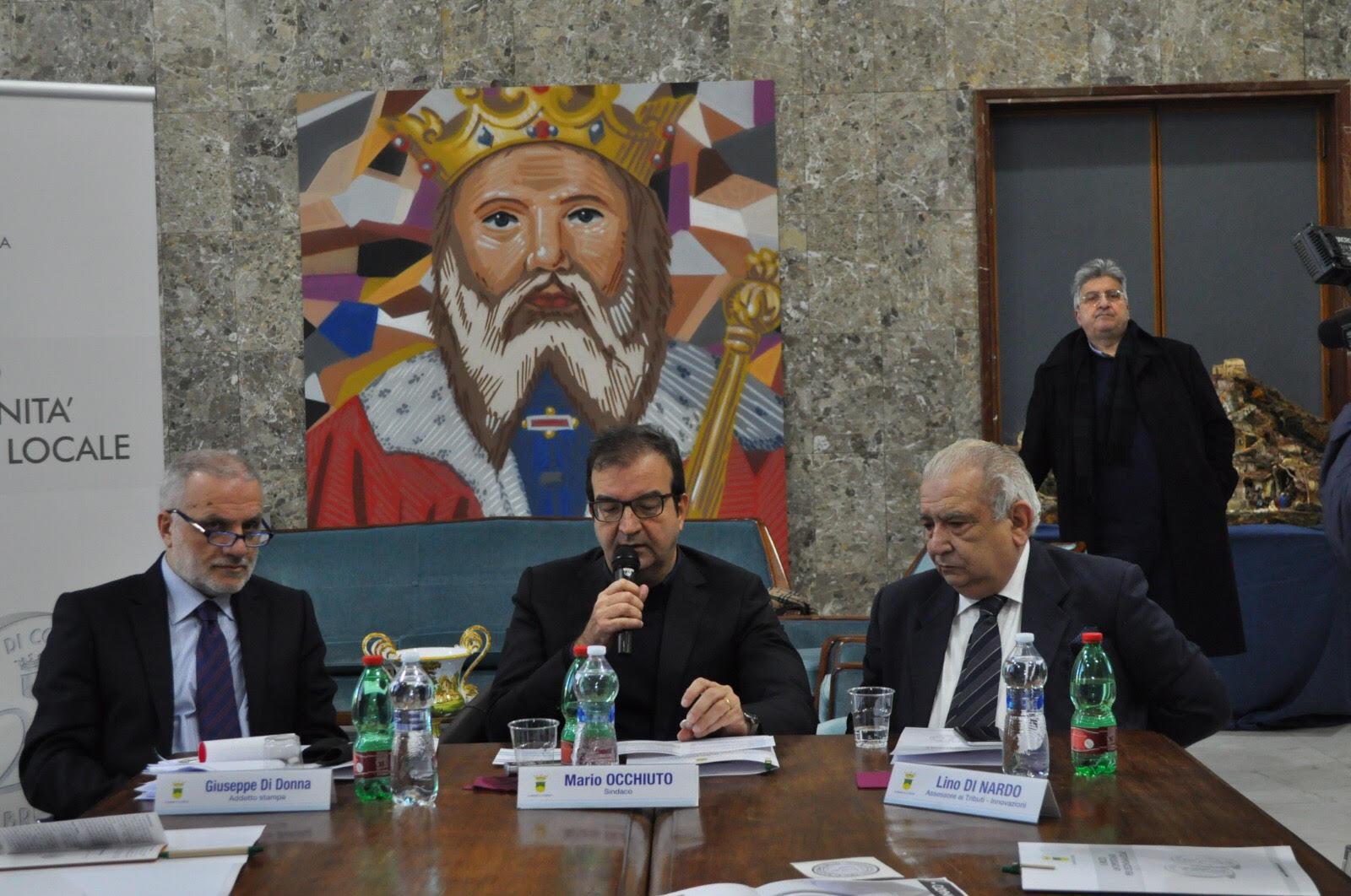 la conferenza stampa di presentazione della nuova