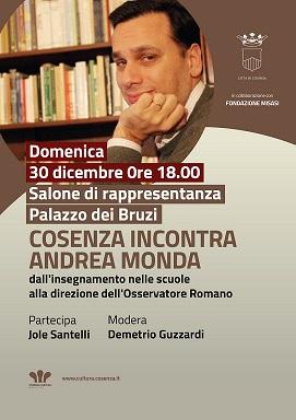 Andrea Monda Locandina Incontro