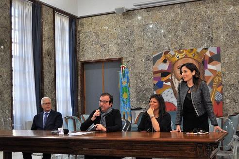 Conferenza stampa sindaco Occhiuto Fine Anno 2018