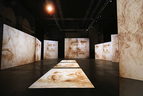 Mostra Multimediale su Leonardo Da Vinci a 500 ann