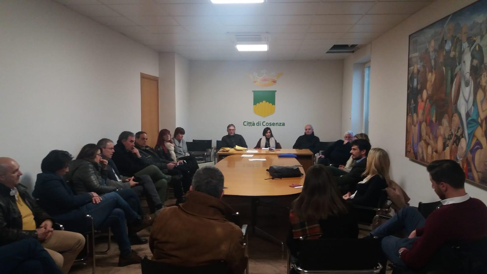 la seduta della commissione lavori pubblici con i