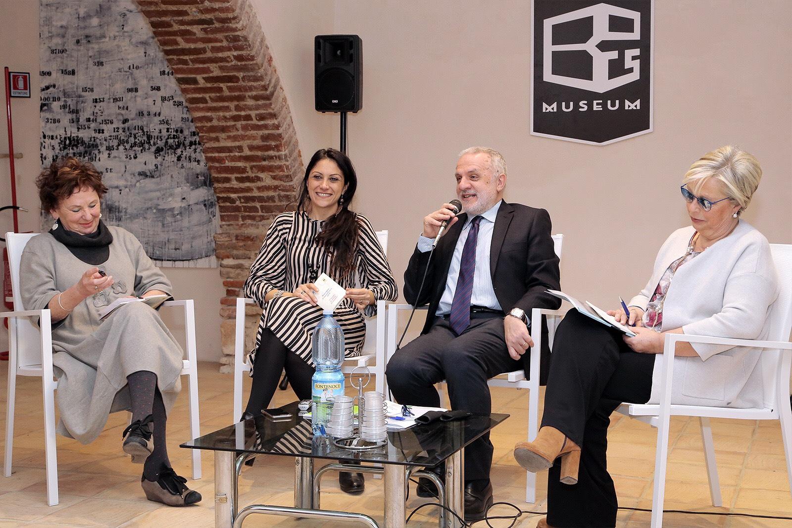 la conferenza stampa dell\'Associazione Polimnia