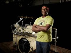 il batterista Billy Cobham