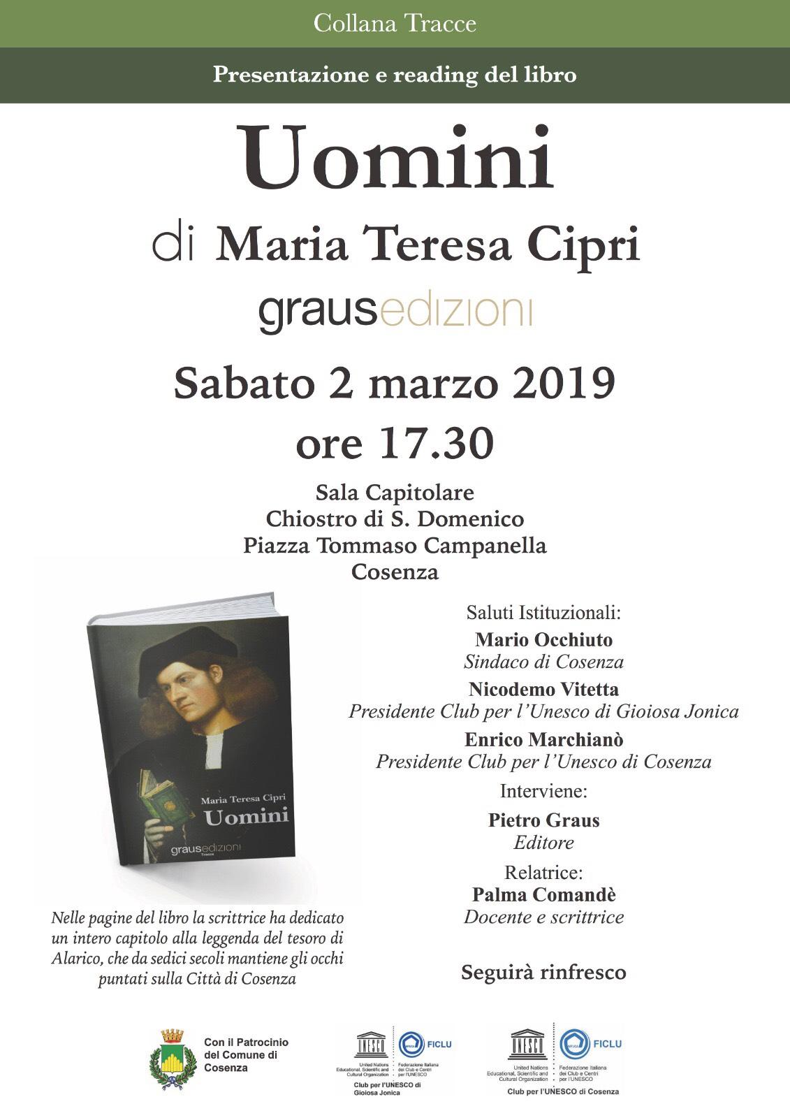 locandina libro Maria Teresa Cipri