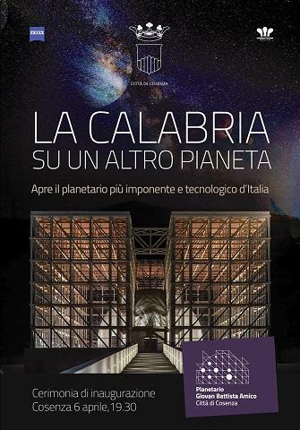 Planetario Locandina inaugurazione