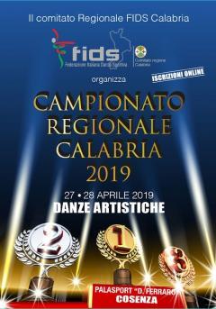 locandina campionati regionali danza sportiva