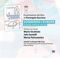 Locandina Presentazione Libro Sognando l\'Europa