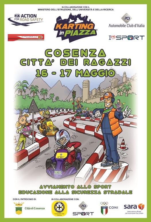 la locandina di Karting in Piazza