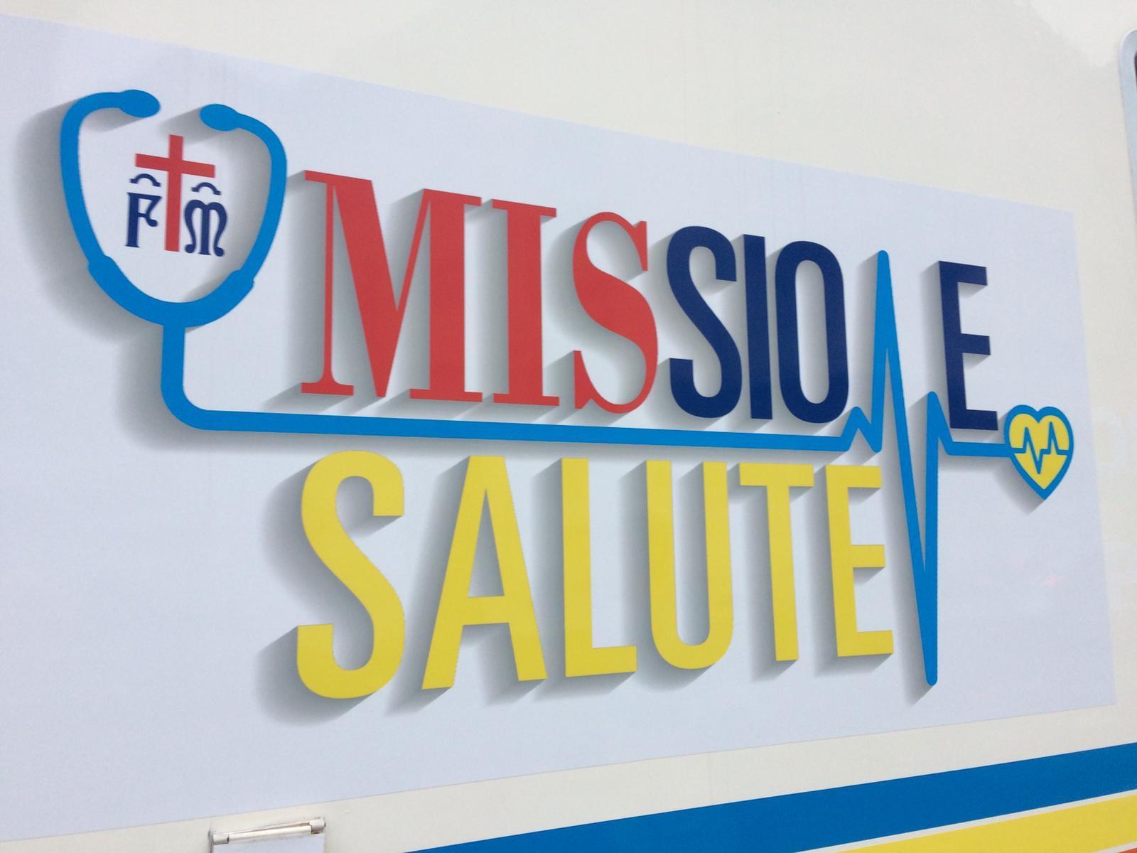 il logo di missione salute