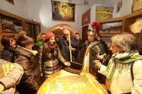 una bottega del centro storico di Cosenza