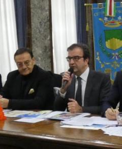 il Sindaco Mario Occhiuto e il Presidente dell\'ENM