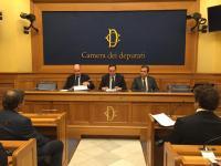 La conferenza stampa alla Camera dei Deputati