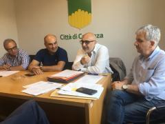 la commissione trasporti con il Presidente Gisbert