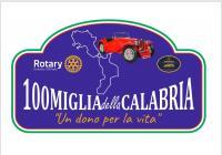 il logo delle 100 miglia della Calabria