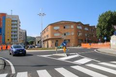 Nuova strada e rotatoria via Popilia