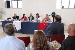 la conferenza stampa di flussi creativi