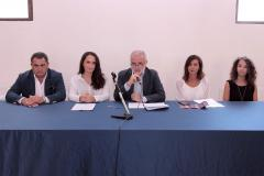 un momento della conferenza stampa dell\'evento Ted